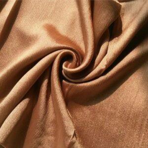 Shimmer Silk Hijab Bronze