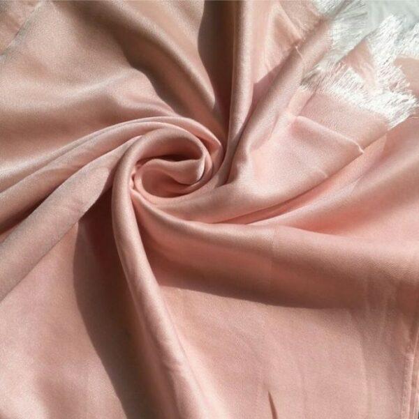Silk Hijab Baby Pink