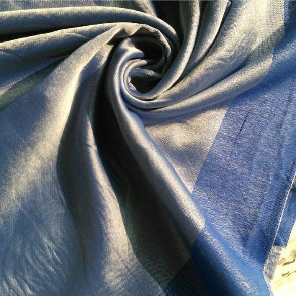 Silken Viscose Hijab Cerulean