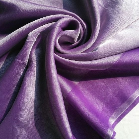 Silken Viscose Hijab Purple