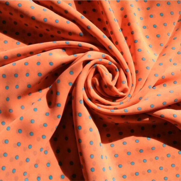 Square Hijab Orange