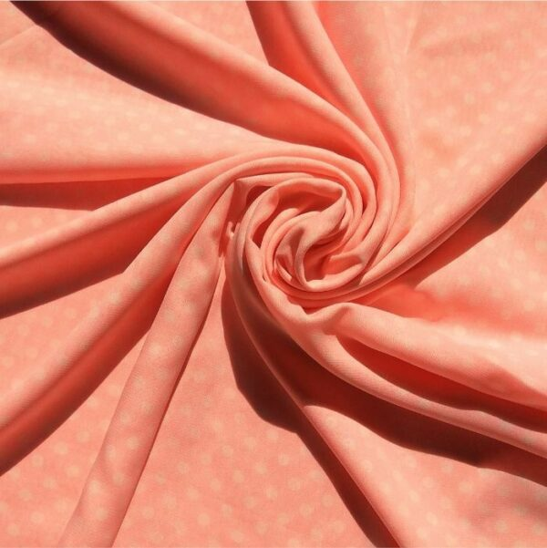 Square Hijab Polka Pink