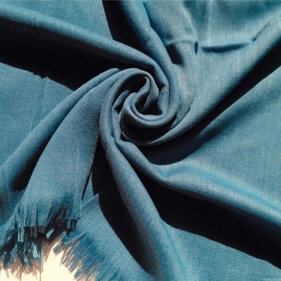 Turkish Cotton Hijab Cerulean