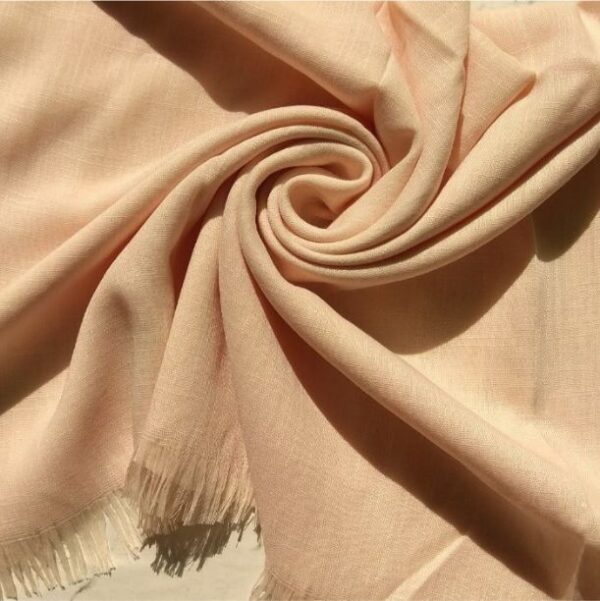 Turkish Cotton Hijab Powder Peach