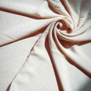 Chiffon Hijab Cream Printed