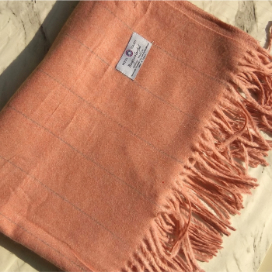Classic Wool Wrap Rouge