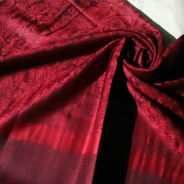 Printed Pashmina Hijab Red