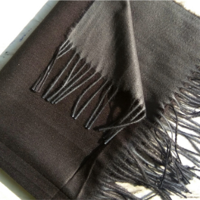 Two Sided Winter Wrap Black Grey