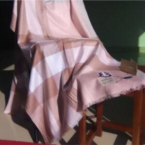 Burberry Winter Hijab Pink2