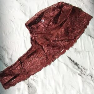 Lace Underscarf Dark Tan