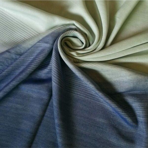 Premium Silk Ocean Blue