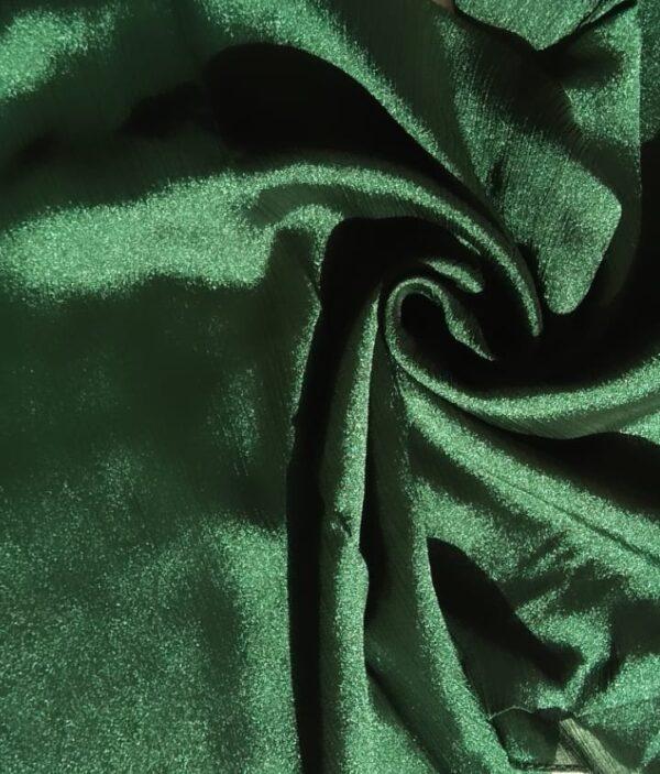 Shimmer Silk Hijab Green