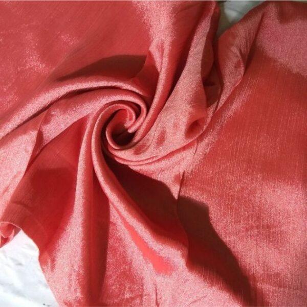 Shimmer Silk Hijab Rasberry