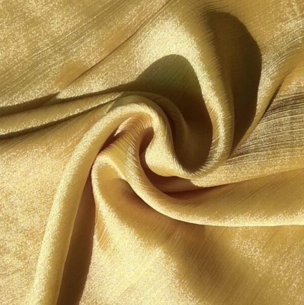 Shimmer Silk Hijab Sweet Gold