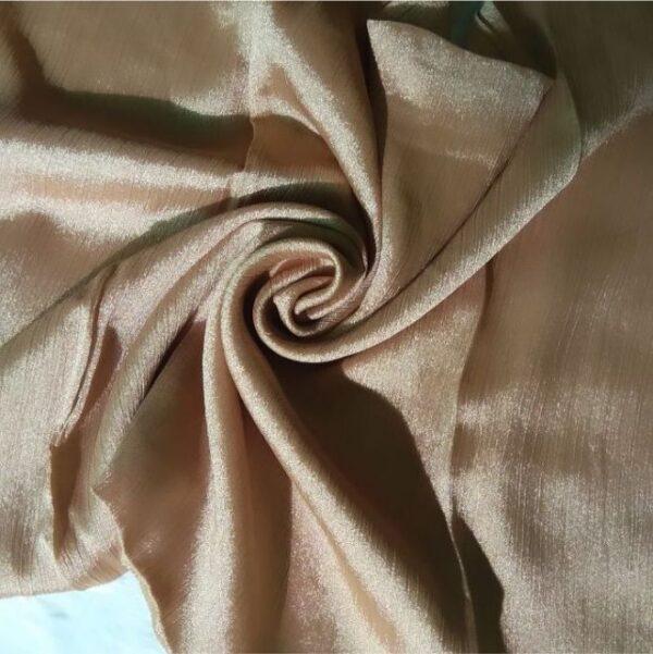 Shimmer Silk Hijab Wheat Gold