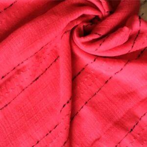Doriah Premium Lawn Hijab Cherry Red