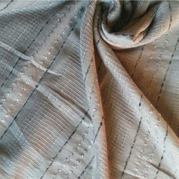 Doriah Premium Lawn Hijab Light grey