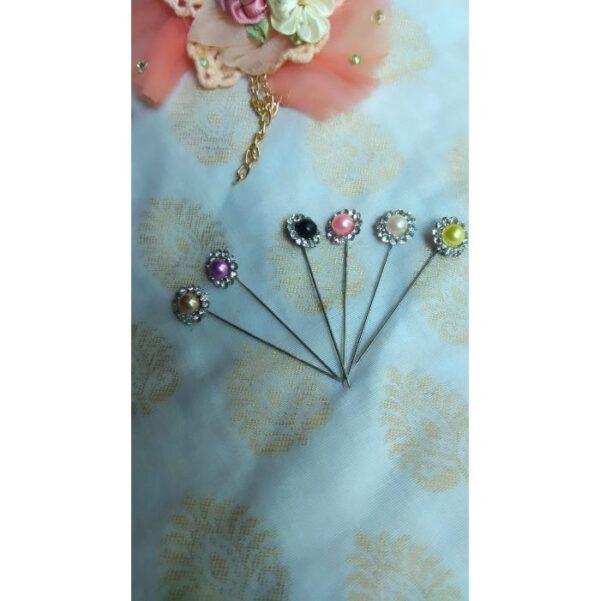 Pearl Head Pins Set