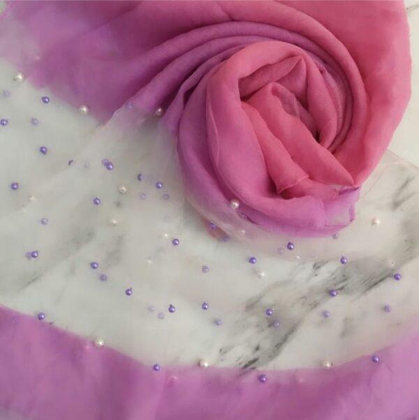 Pearl Organza Purple
