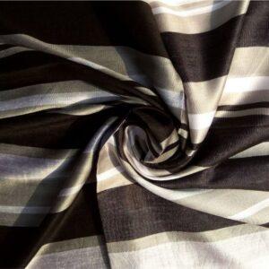 Premium Nepalese Silk Black-Grey