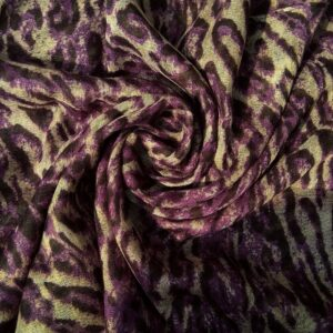 Printed Lawn Hijab Purple