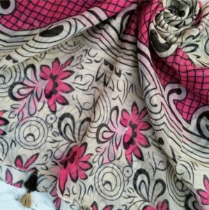 Printed Lawn Pink Fawn