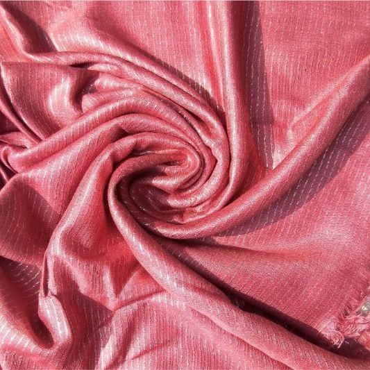 Shimmer Viscose Tea Pink
