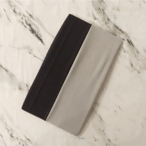 Tube Underscarf Dual Tone Black Grey