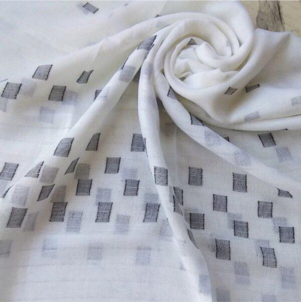 Classic Lawn Hijab White
