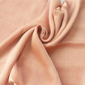 Crinkle Silk Hijab Peach