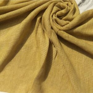 Everyday Lawn Scarf Light Mustard