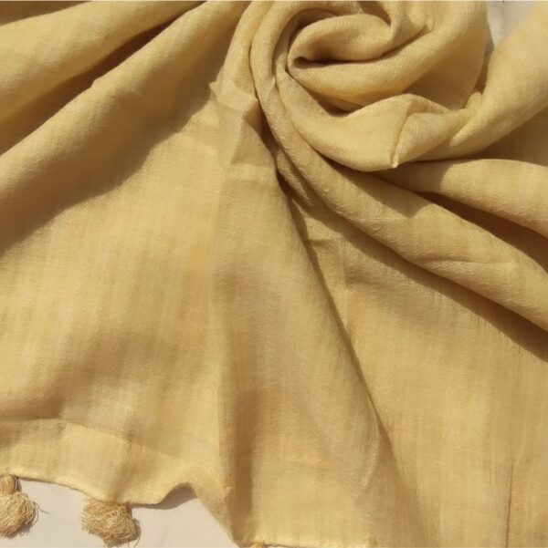 Everyday Lawn Scarf Pale Yellow