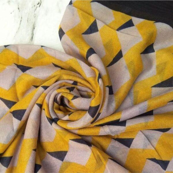Everyday Printed Lawn Scarf Sun Flower