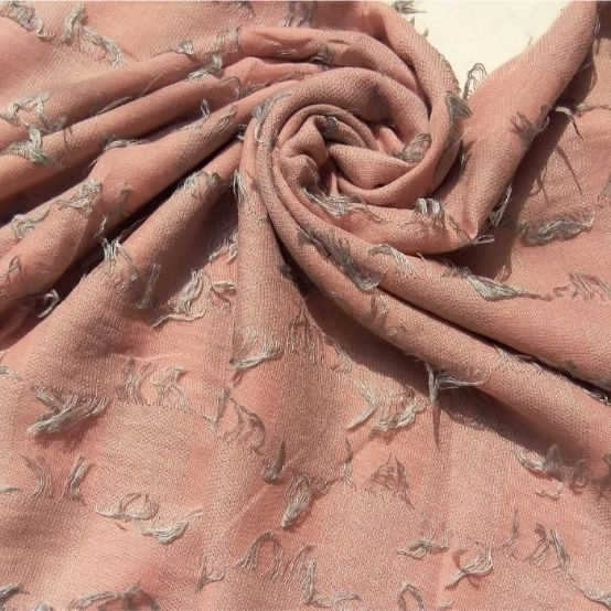 Fancy Lawn with Thread Frills Pink