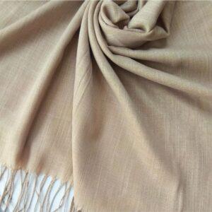 Premium Cotton Hijab Beige