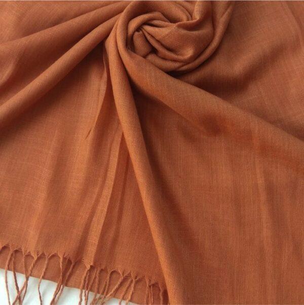 Premium Cotton Hijab Cinnamon