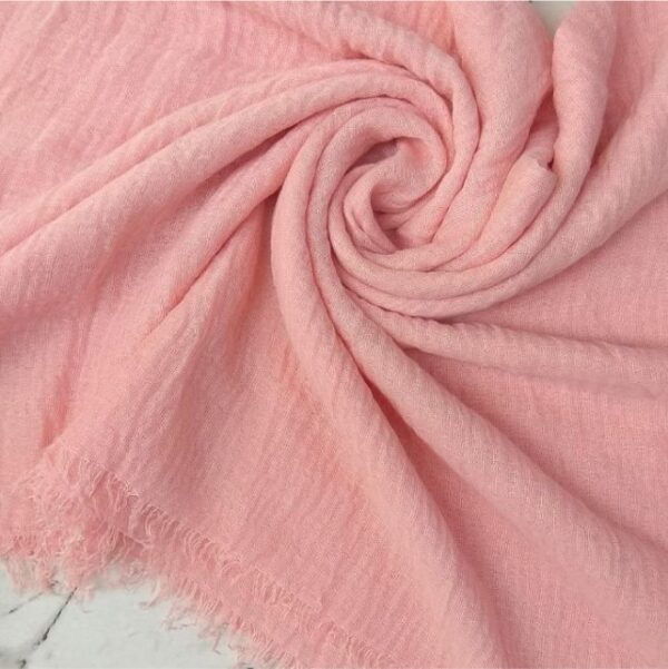 Ripple Cotton Hijab Bubblegum