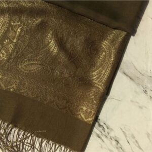 Turkish Silk Scarf Olive