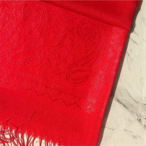 Turkish Silk Scarf Red