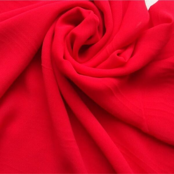 Classic Chiffon Hijab Red