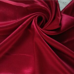 Deluxe Shimmer Silk Stole Cherry Red