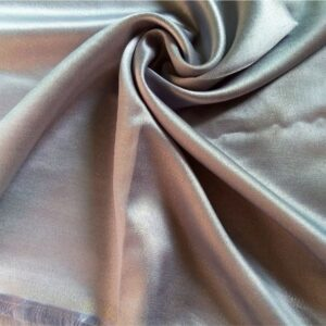 Deluxe Shimmer Silk Stole Glistening Blue