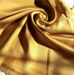 Deluxe Shimmer Silk Stole Royal gold