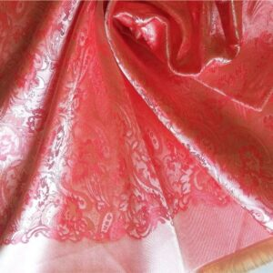 Deluxe Silk Hijab Stole French Rose