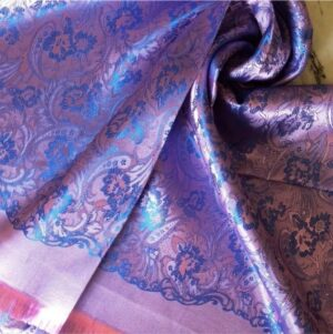 Deluxe Silk Hijab Stole Lilac
