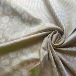 Fancy Silk Stole Fawn