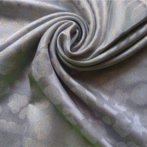 Fancy Silk Stole Ice Blue
