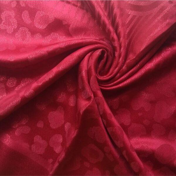 Fancy Silk Stole Maroon