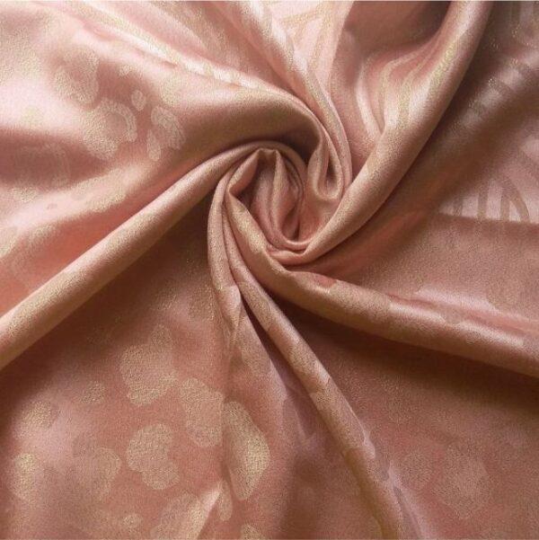 Fancy Silk Stole Peach