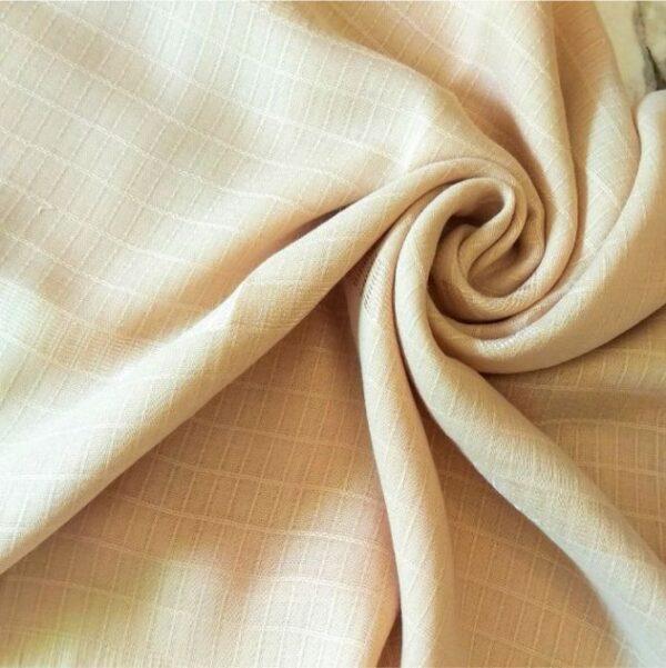 Fancy Turkish Cotton Stole Oyster